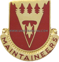ARMY 801 SUPPORT BATTALION UNIT CREST