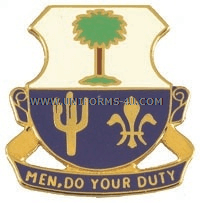 ARMY 163 INFANTRY REGIMENT UNIT CREST