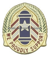 ARMY 166 SUPPORT GROUP USAR UNIT CREST