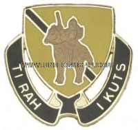 ARMY 167 CAVALRY REGIMENT UNIT CREST
