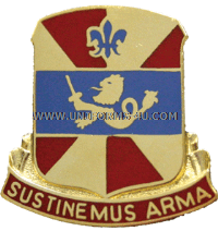 738 support battalion arng in unit crest