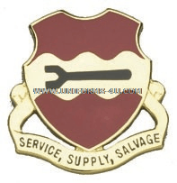 ARMY 735 MAINTENANCE BATTALION UNIT CREST