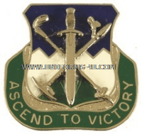 ARMY 172 INFANTRY REGIMENT UNIT CREST