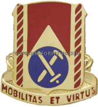 ARMY 710 SUPPORT BATTALION UNIT CREST