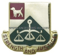 ARMY 175 MILITARY POLICE BATTALION UNIT CREST
