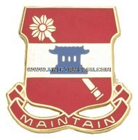 army 703 support battalion unit crest