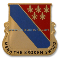 ARMY 702 SUPPORT BATTALION UNIT CREST