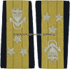 USCG VICE ADMIRAL ENHANCED SHOULDER BOARDS
