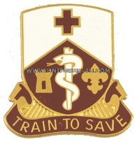 ARMY 187 MEDICAL BATTALION UNIT CREST