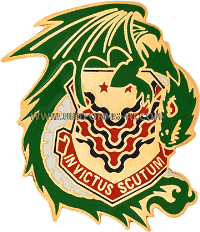 U.S. ARMY 453RD CHEMICAL BATTALION UNIT CREST