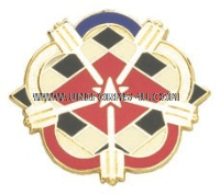 ARMY 633 QUARTER MASTER BATTALION UNIT CREST
