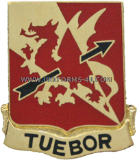 562 air defense artillery brigade unit crest