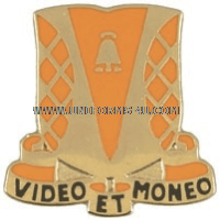 ARMY 551 SIGNAL BATTALION UNIT CREST