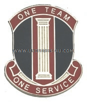 ARMY 546 PERSONNEL SERVICES BATTALION UNIT CREST