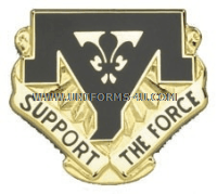 ARMY 544 MAINTENANCE BATTALION UNIT CREST