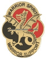 ARMY 530 SUPPORT BATTALION UNIT CREST