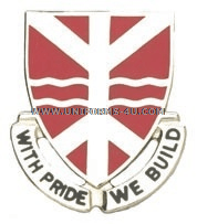 ARMY 527 ENGINEER BATTALION UNIT CREST