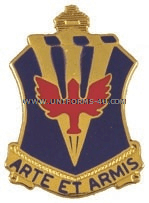 ARMY 202 AIR DEFENSE ARTILLERY BATTALION UNIT CREST