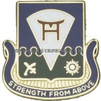 army 511 infantry regiment unit crest