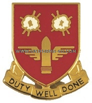 ARMY 203 AIR DEFENSE ARTILLERY BATTALION UNIT CREST