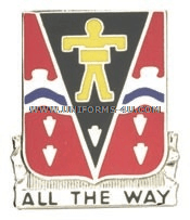 ARMY 509 INFANTRY REGIMENT UNIT CREST