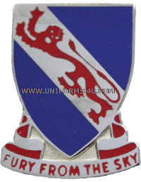 ARMY 508 INFANTRY REGIMENT UNIT CREST