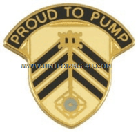 ARMY 505 QUARTERMASTER BATTALION UNIT CREST