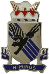 army 505 infantry regiment unit crest