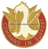 ARMY 204 SUPPORT GROUP UNIT CREST