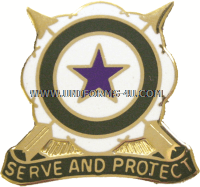 ARMY 205 MILITARY POLICE BATTALION UNIT CREST