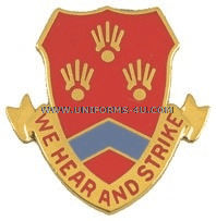 ARMY 214 FIELD ARTILLERY REGIMENT UNIT CREST