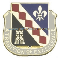 ARMY 215 FINANCE BATTALION UNIT CREST