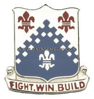 ARMY 439 ENGINEER BATTALION UNIT CREST