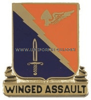 ARMY 229 AVIATION BATTALION UNIT CREST