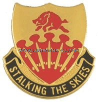 ARMY 233 REGIMENT UNIT CREST
