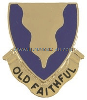 ARMY 415 REGIMENT UNIT CREST