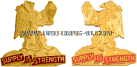 ARMY 407 SUPPORT BATTALION UNIT CREST