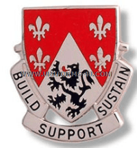 army 249 engineer battalion unit crest