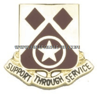 ARMY 249 SUPPORT BATTALION UNIT CREST
