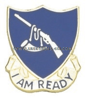 ARMY 399 REGIMENT ADVANCED INDIVIDUAL TRAINING USAR UNIT CREST