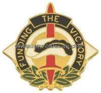 ARMY 398 FINANCE GROUP UNIT CREST