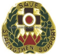 army 256 combat support hospital unit crest