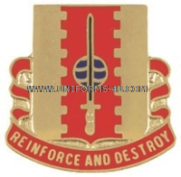 army 386 engineer battalion unit crest