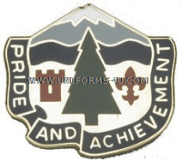 ARMY 380 REPLACEMENT BATTALION UNIT CREST