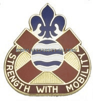 ARMY 375 TRANSPORTATION GROUP UNIT CREST