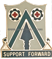 ARMY 372 SUPPORT BATTALION UNIT CREST