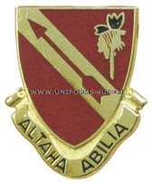 ARMY 291 REGIMENT ADVANCE INDIVIDUAL TRAINING USAR UNIT CREST