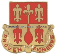 ARMY 299 ENGINEER BATTALION UNIT CREST