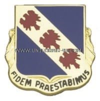 355 INFANTRY REGIMENT USAR UNIT CREST