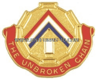 ARMY 301 AREA SUPPORT GROUP UNIT CREST
